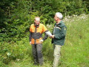 Das Forstamt berät Waldbesitzer, um diese bei der Bewältigung der momentanen Herausforderungen bei der Bewirtschaftung ihres Waldes zu unterstützen. Foto: Forstamt Main-Tauber